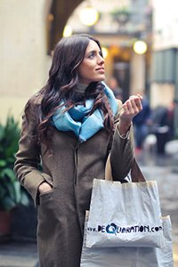 Payment Products – Woman carrying shopping bags.