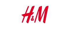 Brand – H&M logo.