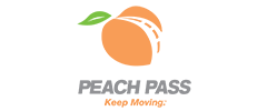Tolling – Peach Pass logo.